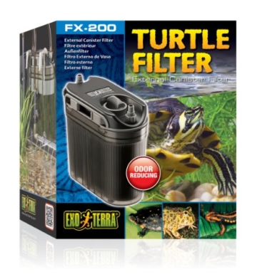 Exo Terra PT3630 Aussenfilter für Schildkrötenbecken, Paludarien oder Aqua-Terrarien -