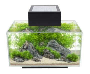Fluval Edge I Aquarium, schwarz -