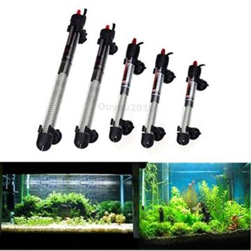 FOCUSPET 25W 220V Aquarium Heizer Heizung Regel Heizer Heizstab Heizstäbe mit 2 Sauger -