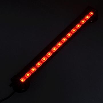 Neverland 42cm 24 LED 4.5W Aquarium Bubble Beleuchtung LED Lichtleiste Tageslichtsimulator Wasserfest Led Blase Licht Bar + 24 Tasten RC Fernbedienung Für Aquarium mit EU Stecker -