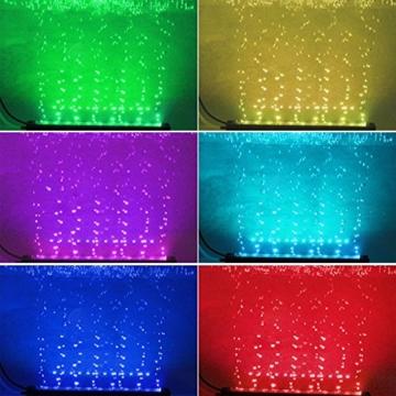 SPEED Aquarium LED Bubble Beleuchtung Hochwasserblase Lichtleiste 60CM -