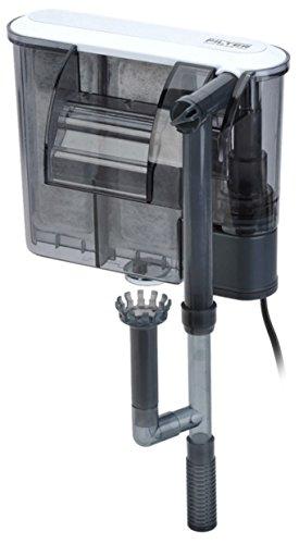 Wasserfilter Aquarium mit Wasserfall, einstellbare Geschwindigkeit.-System Außenfilter für Aquarium mit Filterpumpe. Aquarienzusatz Wasser Endschalldämpfer 380l. Geeignet für Aquarien mit der Fische, Turtles.. -