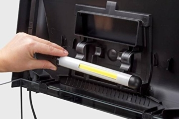 Aquarium Abdeckung AquaEl LED LEDDY Serie, robuste, moderne Aquariumabdeckung mit integriertem, energiesparendem Beleuchtungsmodul LEDDY TUBE 6 W (60 x 30 cm) -