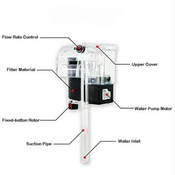 artans (TM) Externe Sauerstoff Pumpe Wasserfall Filter für Fische Schildkröte Tank Aquarium Aquarien Zubehör Pumpen 220-240V -