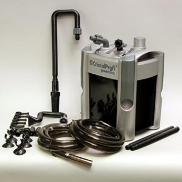 JBL 60200 Außenfilter  für Aquarien von 40 - 120 Litern, CristalProfi e 401 greenline -