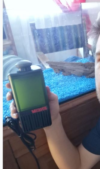 Eheim Pick-Up 60 Filter Test